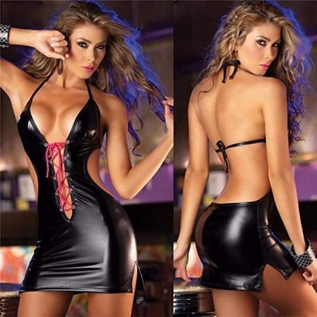 Sexy vestido brillante