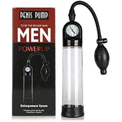 Bomba masculina manual con manómetro