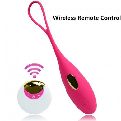 Huevo vibrador recargable love egg con control remoto