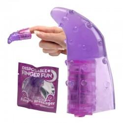 Disposable Finger Fun Massager - Vibrador Para Dedo Estimulante De Clitoris