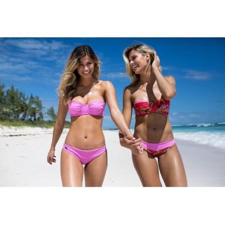 Bikini strapless 4 en 1