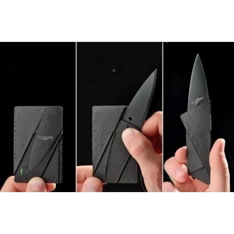 Navaja tarjeta plegable de bolsillo