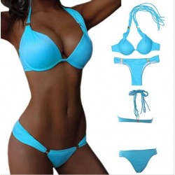 Bikini brasilero azul