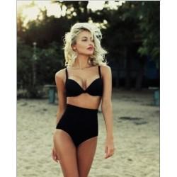 Bikini alto con realce