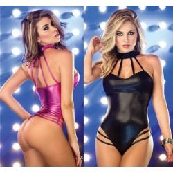 Sexy body cuero sintetico