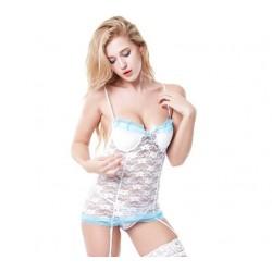 Hermoso corset con encaje
