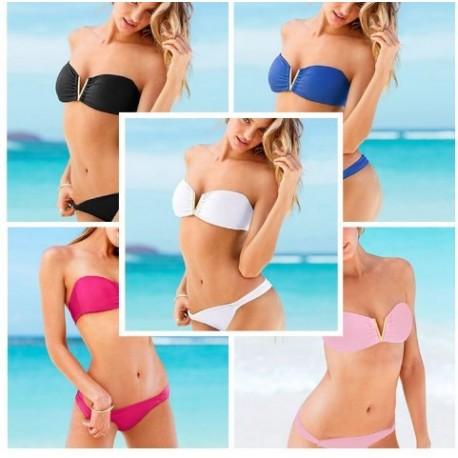 Bikini con escote